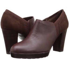 Bella Vita Leather & Suede Ankle Boots
